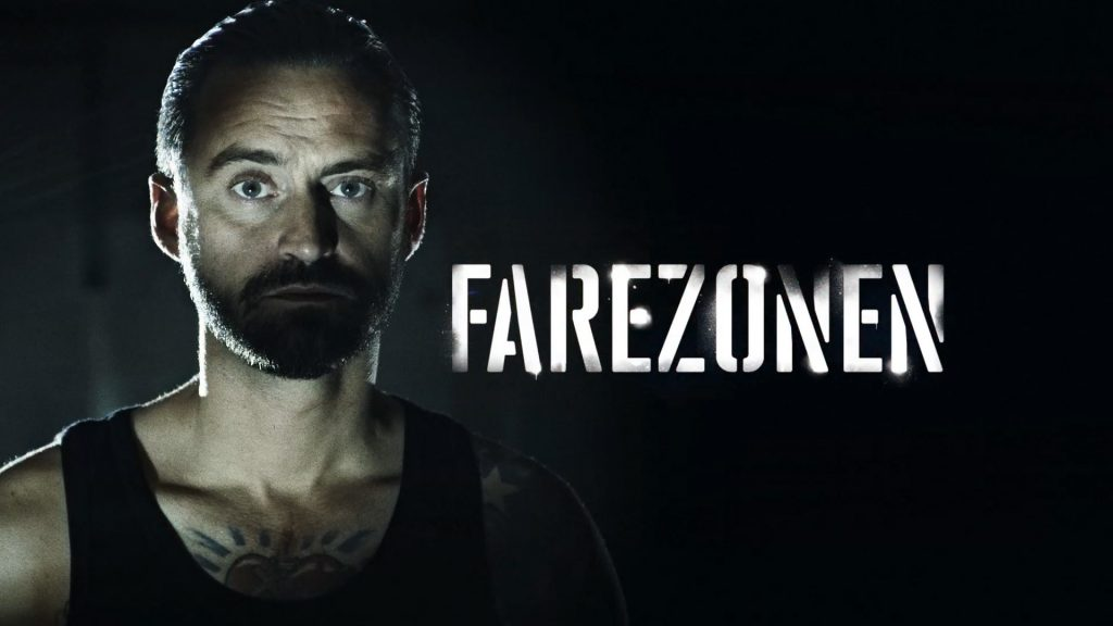 Post production of a title sequence and TV graphic package for the Danish series Farezonen with Jokeren
