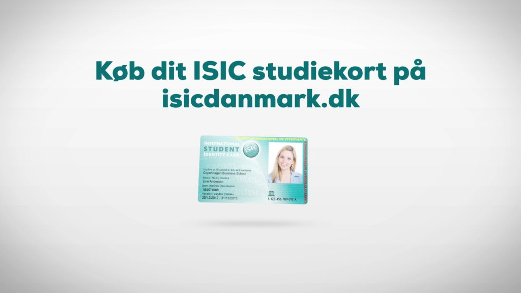 A motion graphics TV Commercial film production for ISIC Student ID card