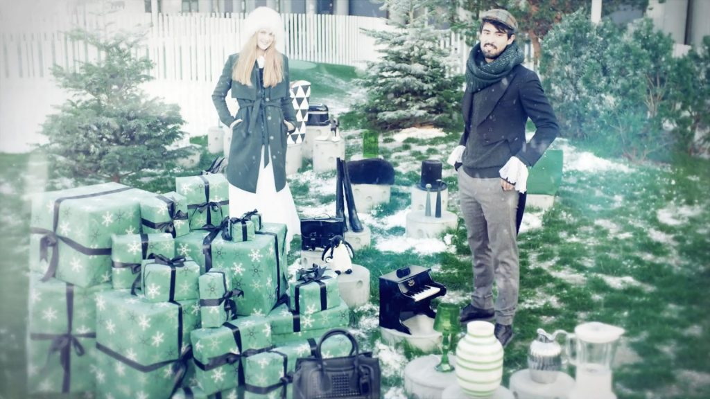 Motion Graphics, Editing and Color Grading for an instore and promotional video for Arkaden Torgterrassen Christmas