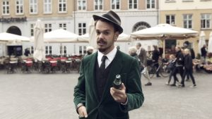A voxpop film production and post production for the Danish beer brand Carlsberg in Copenhagen