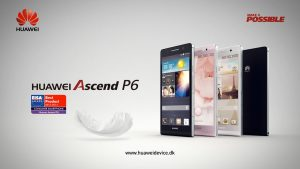3d animation and motion graphics sponsored TV spot for Huawei Ascend P6