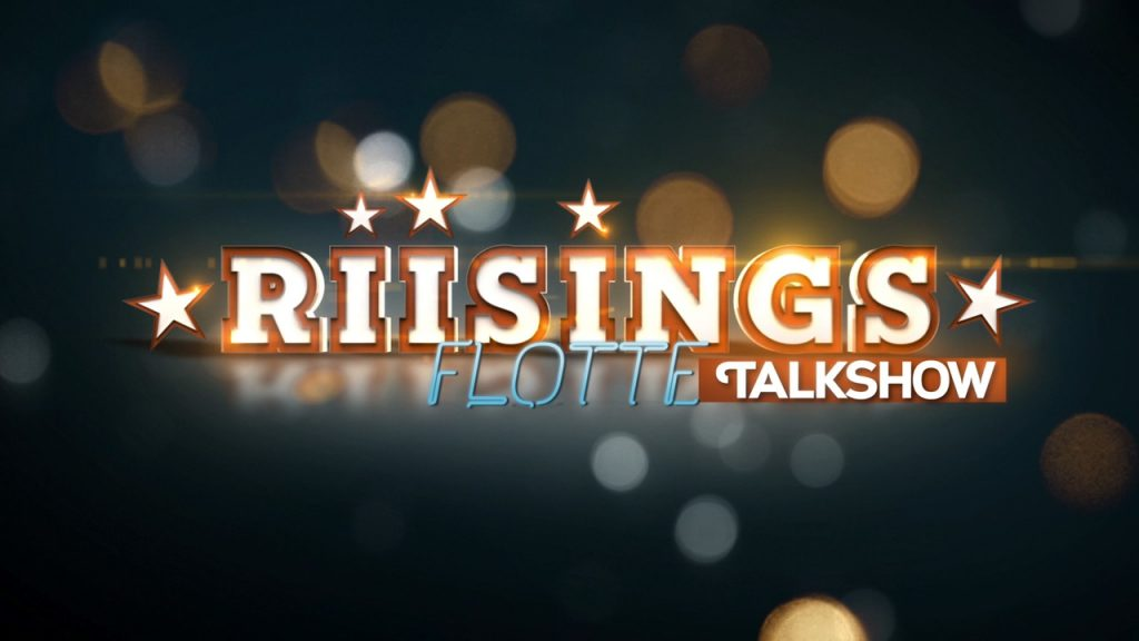 Motion Graphics and 3D Animated title sequence and graphic package for the children's series Riisings Flotte Talkshow on DR Ultra