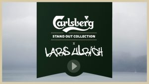 Post production of this video for Carlsberg and the promotion of their stand out collection where they collaborated with Lars Ulrich