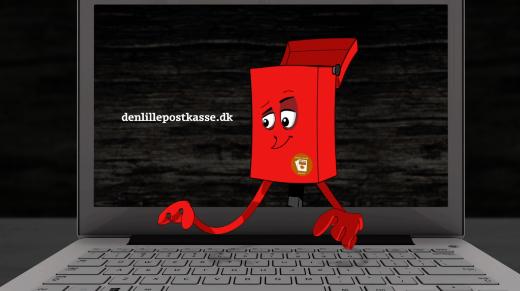 Animation and motion graphics for a TV commercial video for Coop's denlillepostkasse.dk