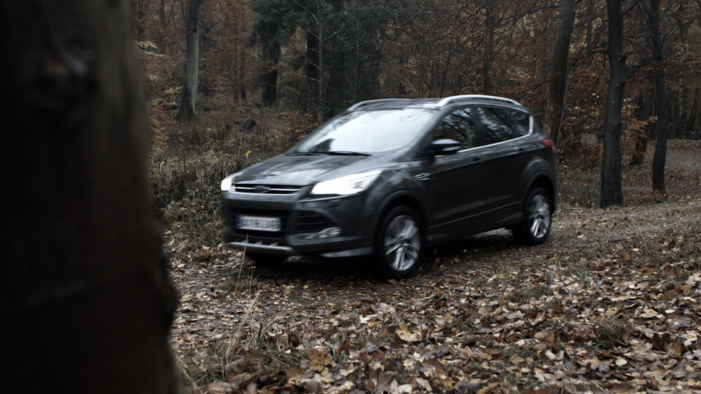 Post production, editing, color grading for this sponsored mini program video for Ford Kuga