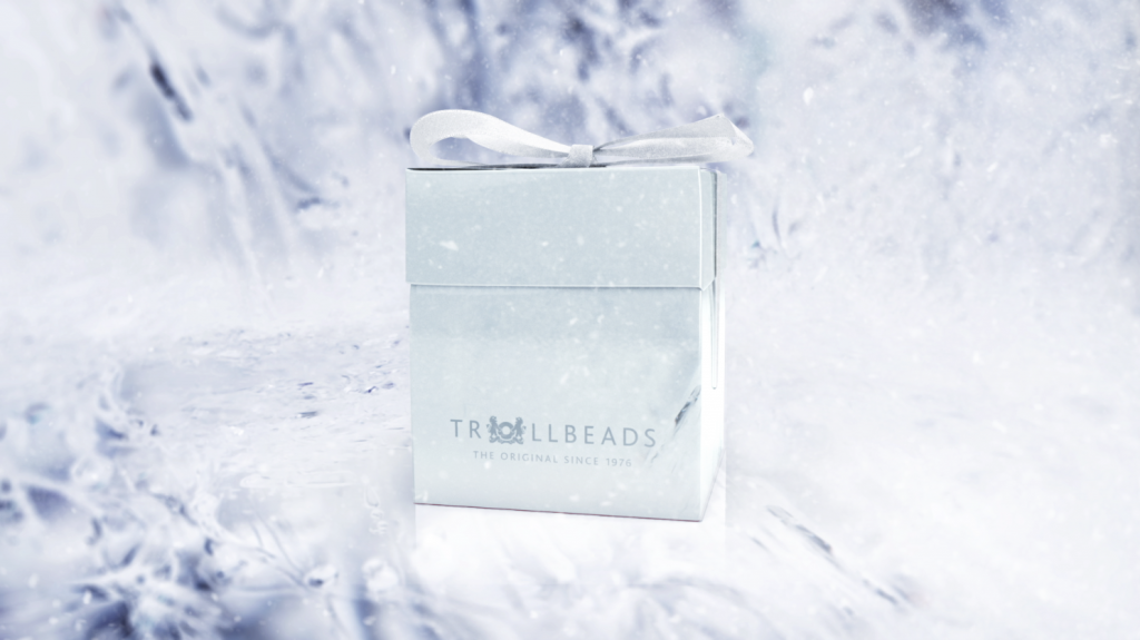 Advanced 3D modelling and animation in the TV commercial and promotional spot for Trollbeads Christmas jewellery collection