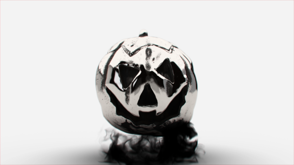 Advanced 3D modelling and animation in the TV commercial and promotional spot for Trollbeads Halloween jewellery collection