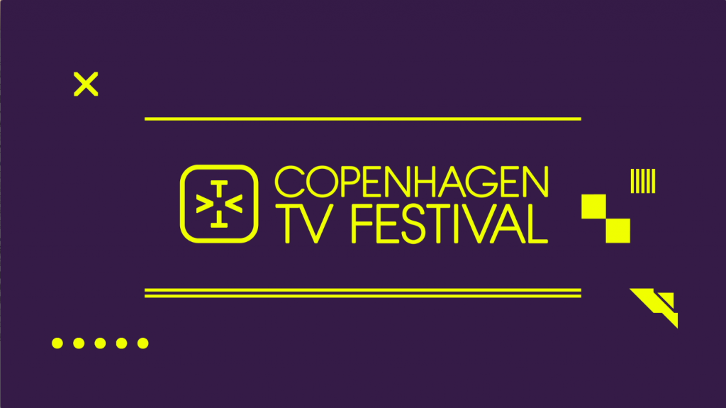 Motion Graphics and animated title sequence and graphic event packaging for Copenhagen Tv Festival 2016