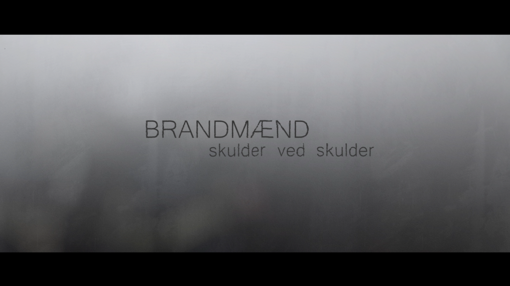 Editing, color grading, motion graphics and animations for a title sequence and graphic package for the TV series Brandmænd Skulder ved Skulder