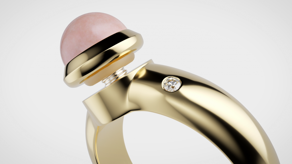 Advanced 3D modelling and animation in the TV commercial and promotional spot for Dyrberg/Kern's Compliments jewellery collection