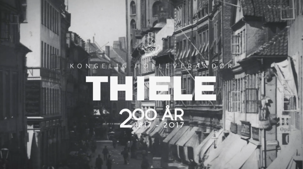 Editing and Motion Graphics video production for a TV commercial for Thiele