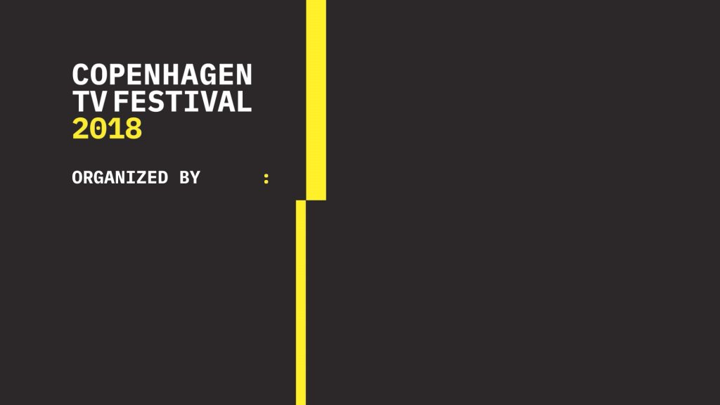 A full event motion graphic package for Copenhagen TV Festival 2018 produced for Danish Producers´ Association - Minimalistic Motion Graphics
