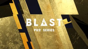 This 3d breaker is a central part in the eSport event Blast pro Series - 3d animation motion graphics in pure gold